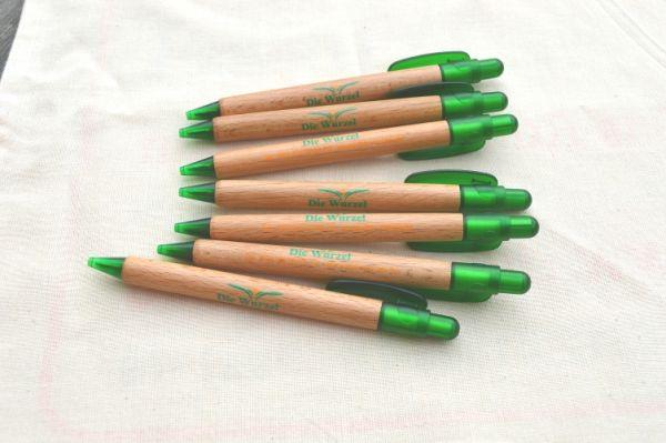 Wurzel-Kugelschreiber aus Buchenholz