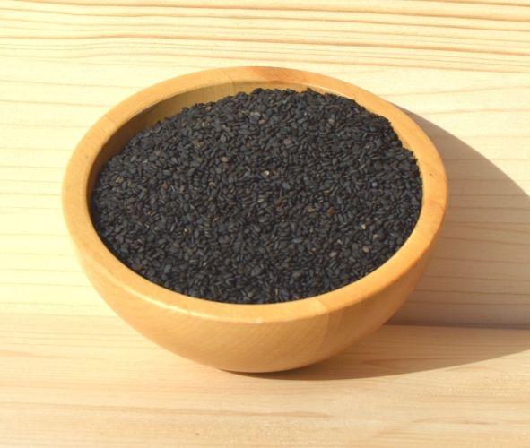 Schwarzer Sesam, 500 g