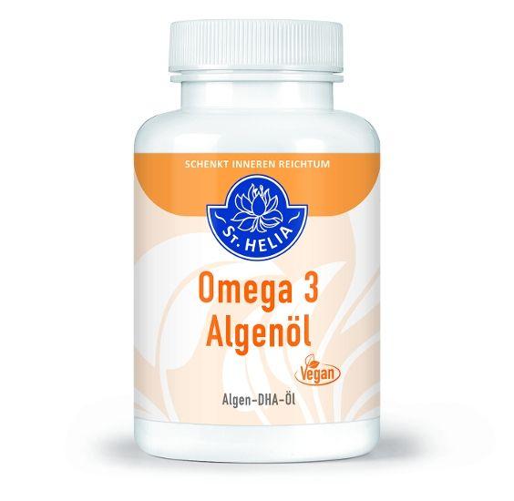 Omega 3 Algenöl - St. Helia, 90 Kapseln
