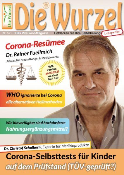 S-Paket: 25 Wurzel-Leseproben 03/2021 - Dr. Reiner Fuellmich