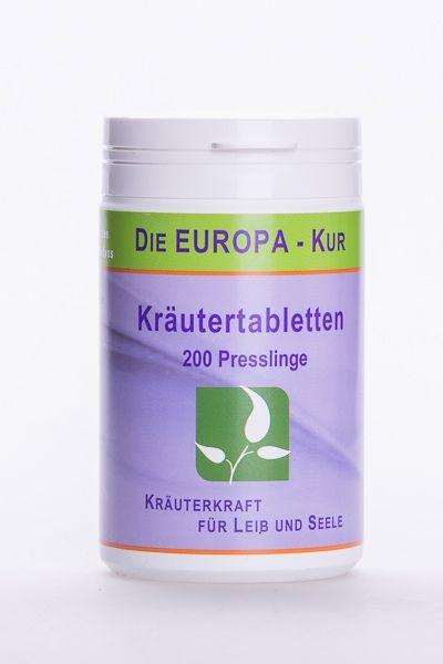Europa Kräutertabletten 200 Stk