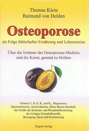 Osteoporose als Folge fehlerhafter Ernährung und Lebensweise